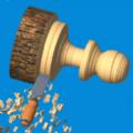 抖音上削木头的游戏