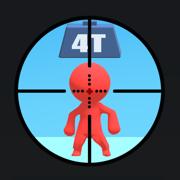 抖音上用狙击枪闯关的游戏