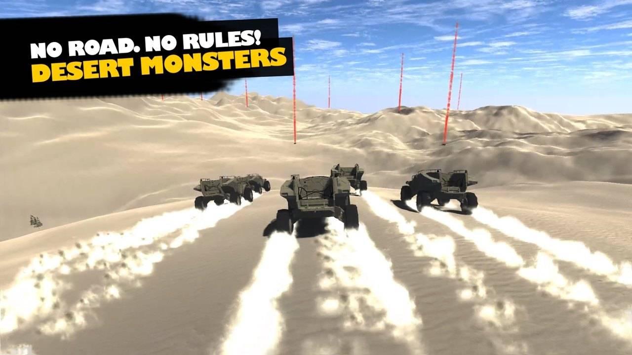 沙漠怪兽赛车截图