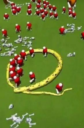 长蛇吃人游戏截图