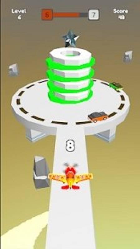 火球高塔大爆炸3D截图