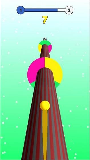 彩色螺旋球截图