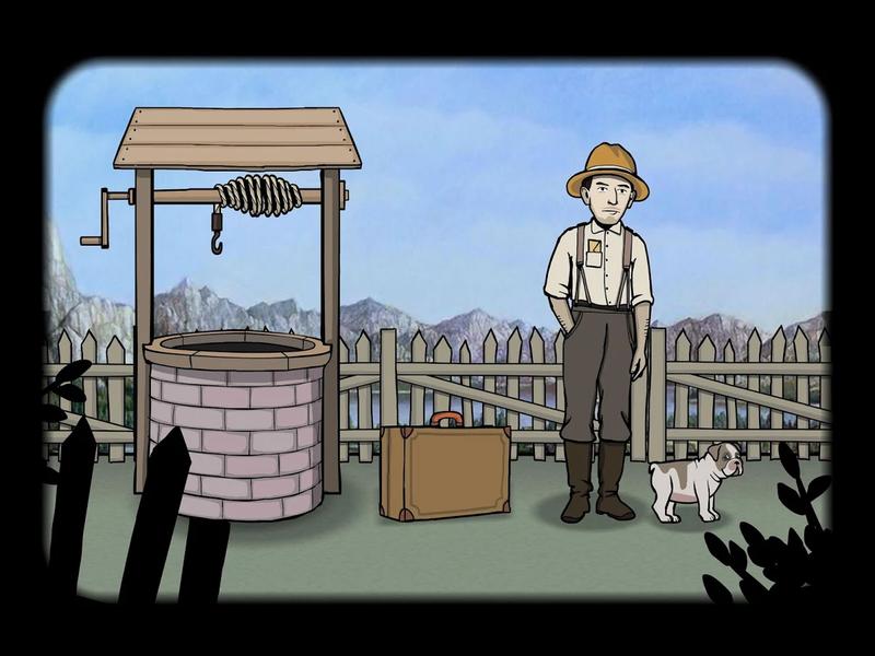 逃离方块:锈湖根源截图