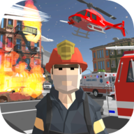 城市消防员英雄