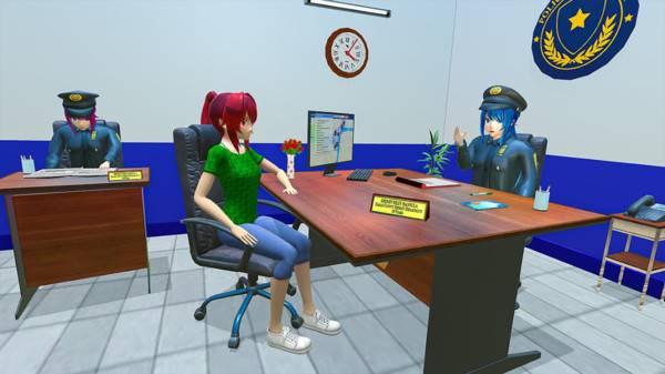 动漫女孩警察截图