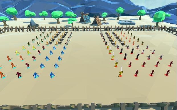 战斗模拟器截图