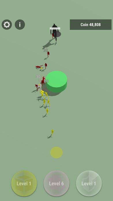 抖音各种不同颜色的小人打架的游戏截图