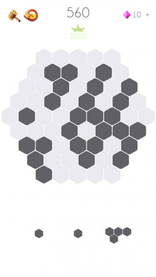 消灭六边形截图