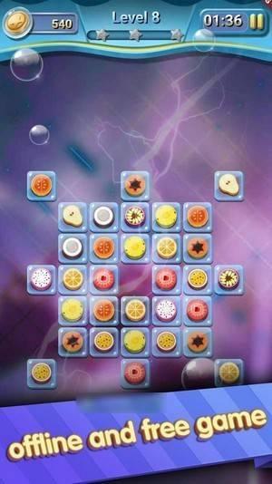 水果闪电方块截图