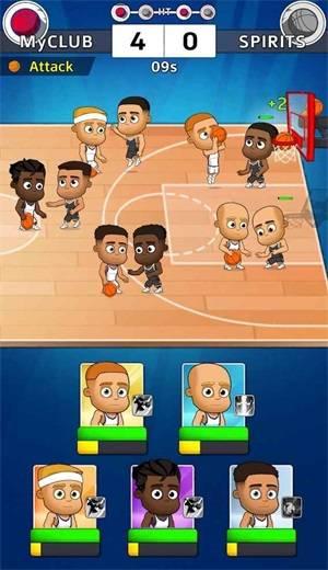 闲置五人篮球截图