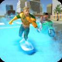 水滑板城市英雄