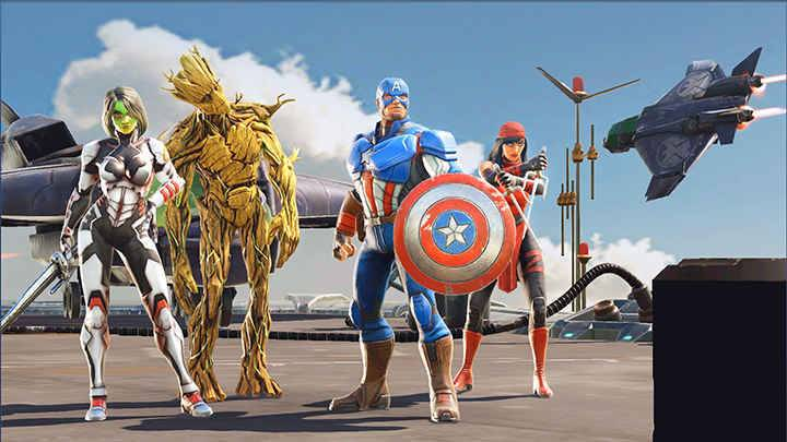 marvel strike force截图