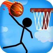 抖音火柴人打篮球的游戏