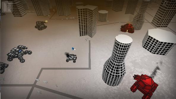 机械人战斗模拟器截图