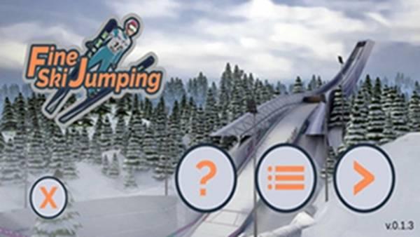 滑雪跳跃截图