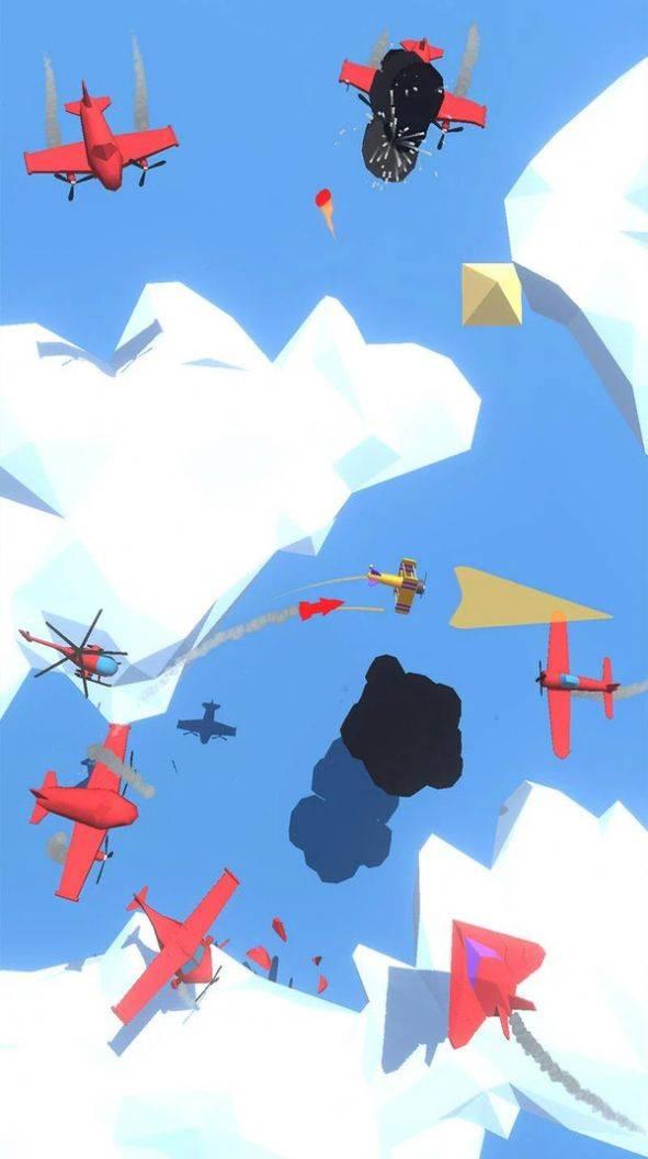 轰炸飞机游戏截图