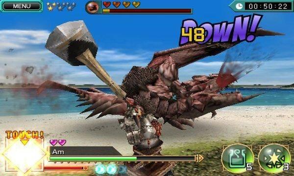 怪物猎人安卓汉化版截图