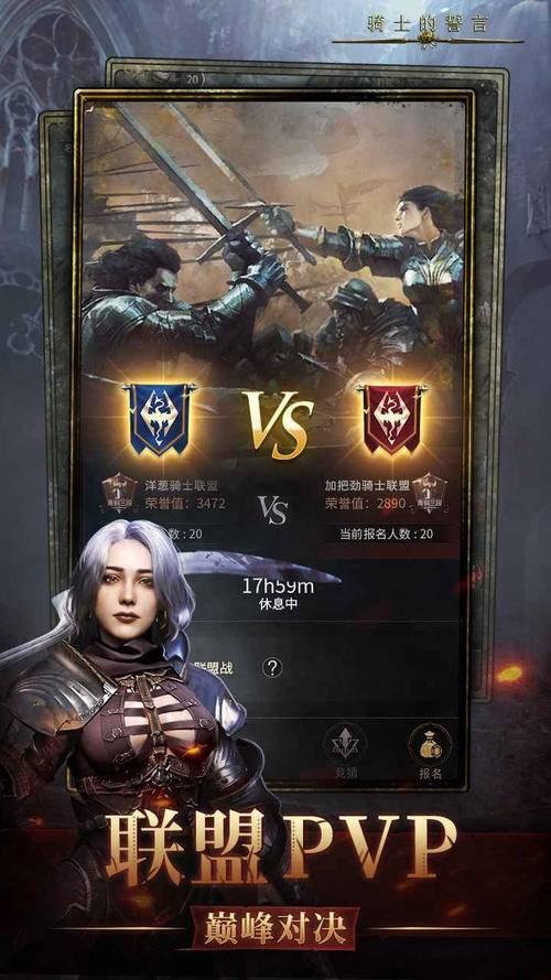 骑士的誓言游戏截图