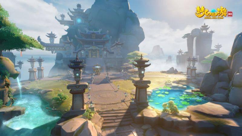 梦幻西游3d体验服截图