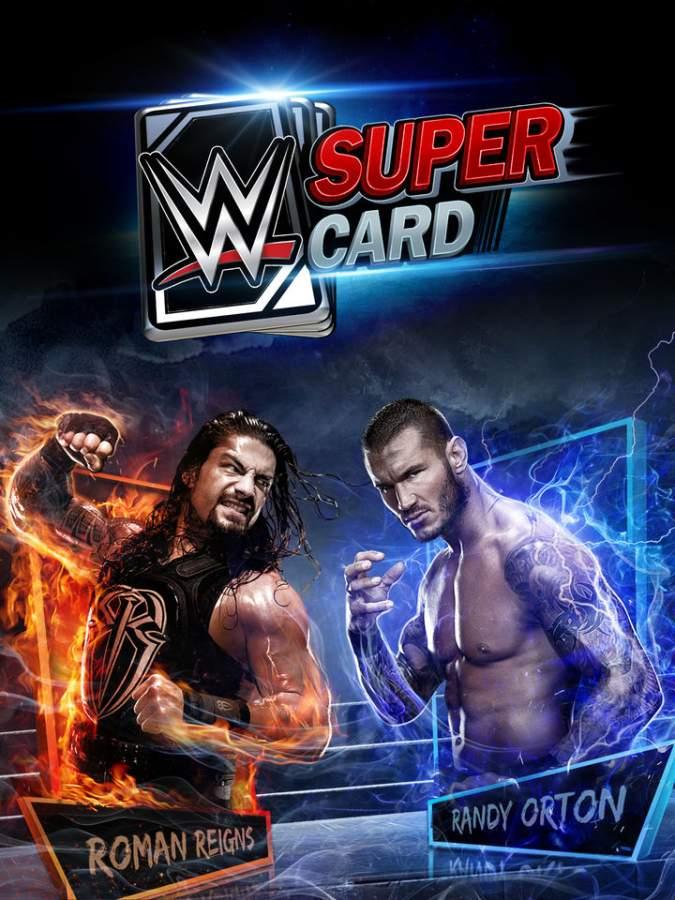 WWE巨星卡牌截图