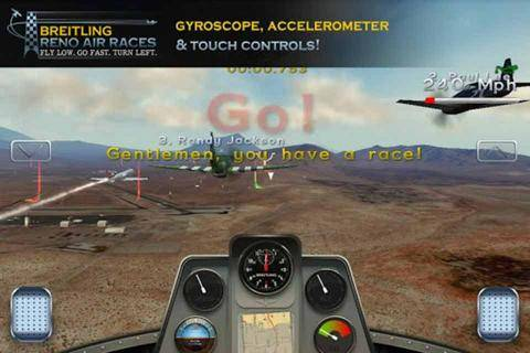 雷诺飞行竞技截图