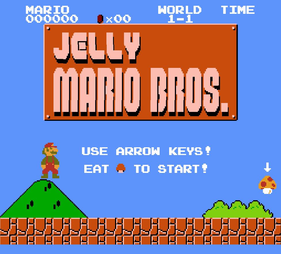 喝高的马里奥是什么游戏?果冻马里奥游戏在哪里下载?