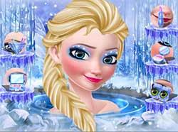 寒冰女王温泉化妆派对截图