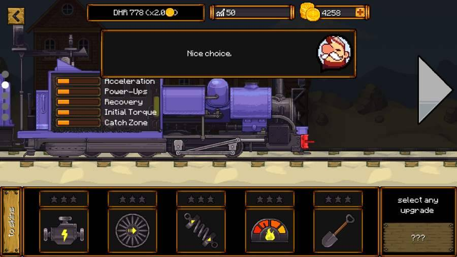 蒸汽火车赛中文版截图