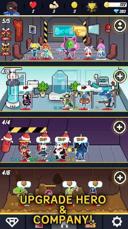 Retro Rangers中文版截图