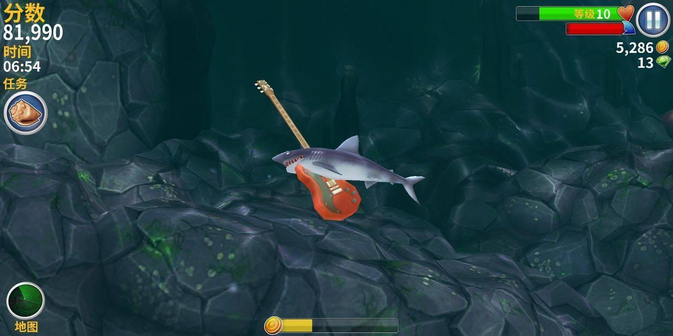 饥饿鲨进化6.5.2破解版截图
