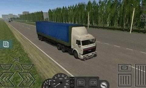 卡车运输模拟内购破解版截图
