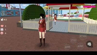 校园樱花模拟器升级版截图