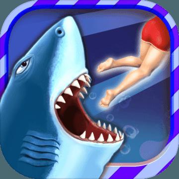 饥饿鲨进化神秘人面鱼破解版游戏