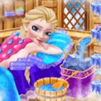 寒冰女王温泉化妆派对
